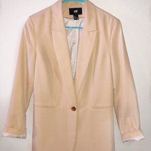 H&M Single Breasted Blazer, Large